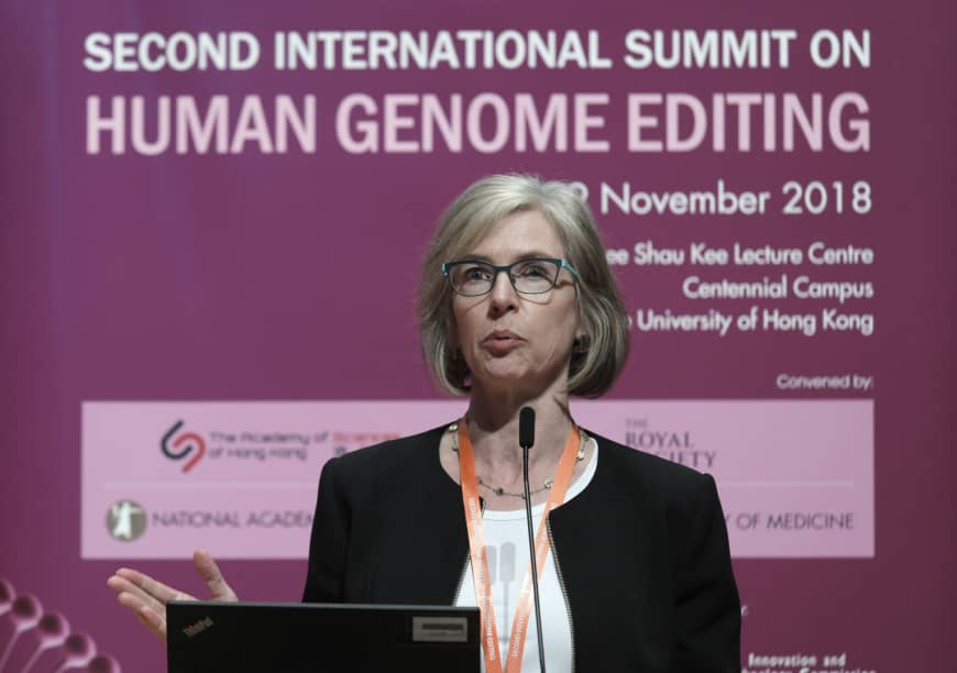 """Jennifer Doudna on gene edited babies said thatshe's """"horrified"""" and """"disgusted"""" with how her work has been usedto create humans"""