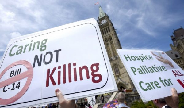 Euthasia could be choosen because poor health care in Canada