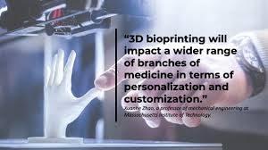 3D bioprinting major advancement. New prospects