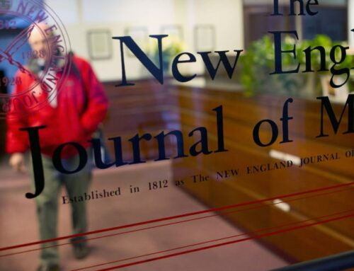 Political trends in scientific journals. The New England Journal case