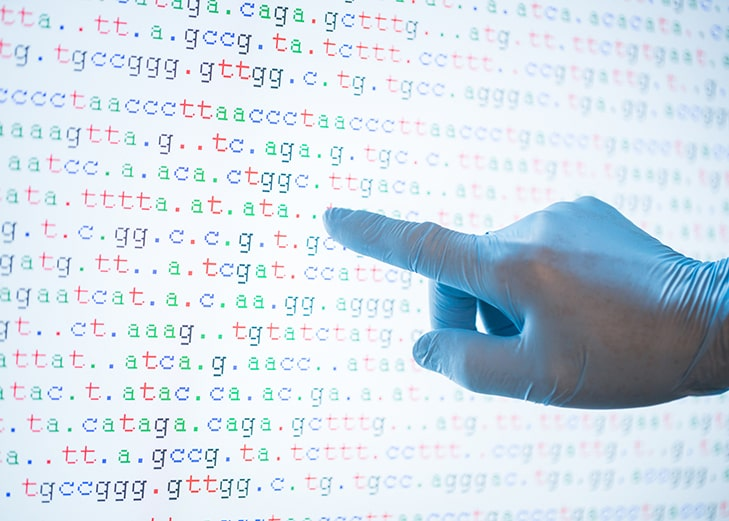 genome sequencing indiscriminate