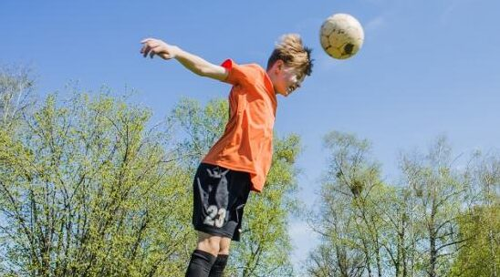 Debate on heading in children's football