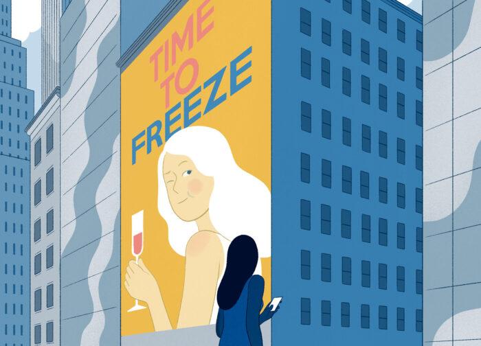 Social freezing misinformation