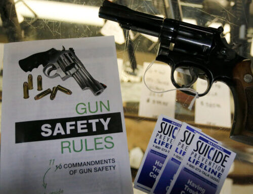 Less suicide by handguns in adolescents in some States. Teen suicide prevention in the US has hopeful news