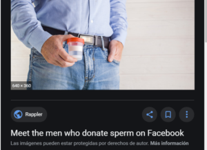 sperm donation black market