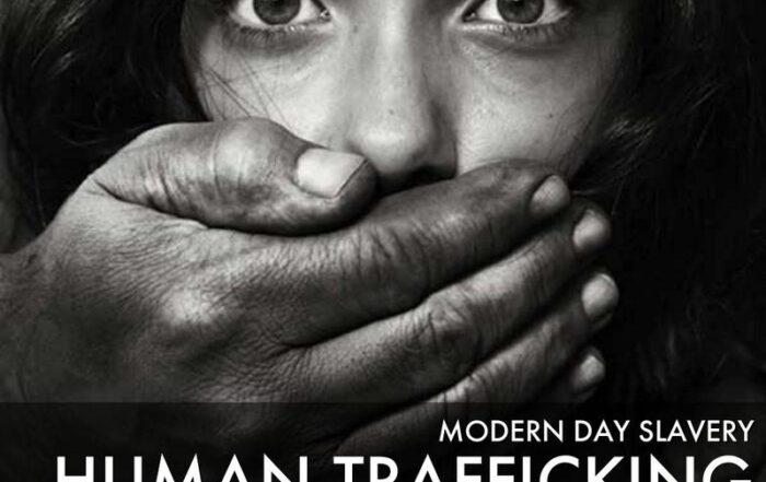 Human trafficking scourge